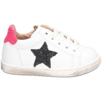 Chaussures Fille Baskets basses Gioiecologiche 5123 BLANC NOIR