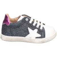 Chaussures Fille Baskets basses Gioiecologiche 5125 BLEU BLANC