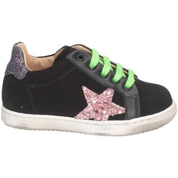 Chaussures Fille Baskets basses Gioiecologiche 5103 NOIR / ROSE