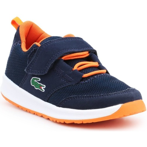 Chaussures Garçon Sandales et Nu-pieds Lacoste Light 217 1 SPC 7-33SPC1005DT7 granatowy, pomarańczowy