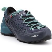 Chaussures Femme Randonnée Salewa WS Wildfire Edge GTX 61376-3838 czarny, zielony, granatowy