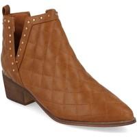 Chaussures Femme Bottines Buonarotti 1A-0393 Camel