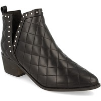 Chaussures Femme Bottines Buonarotti 1A-0393 Negro