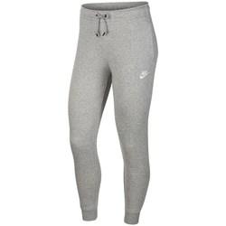 Vêtements Femme Pantalons Nike Essential Pant Reg Fleece Gris