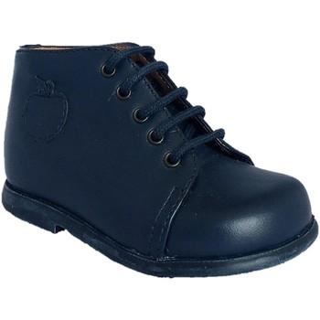 Chaussures Garçon Boots Pom d'Api Nioupi Primo Alzina marine