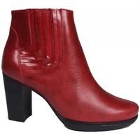 Chaussures Femme Bottines Karston Bottine atota rouge