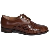 Chaussures Femme Derbies Karston jeudi Marron