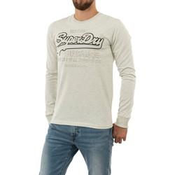 Vêtements Homme T-shirts manches longues Superdry m6010159a 43d queen marl gris