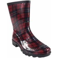 Chaussures Femme Bottes de pluie Kelara Lady K01103 rouge Multicolore
