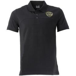 Vêtements Homme Polos manches courtes Emporio Armani EA7 Polo EA7 Emporio Noir