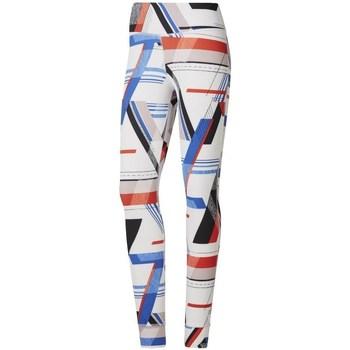 Vêtements Femme Leggings Reebok Sport One Series Lux Bold Blanc, Rouge, Bleu