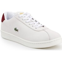 Chaussures Homme Baskets basses Lacoste Masters Blanc