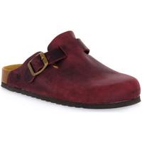 Chaussures Sabots Bioline VINO INGRASSATO Rosso
