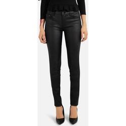 Vêtements Femme Pantalons Kebello Pantalon 5 poches droit en simili Taille : F Noir XS Noir