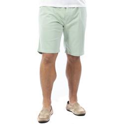 Vêtements Homme Shorts / Bermudas Ruckfield Bermuda chino vert clair Bleu