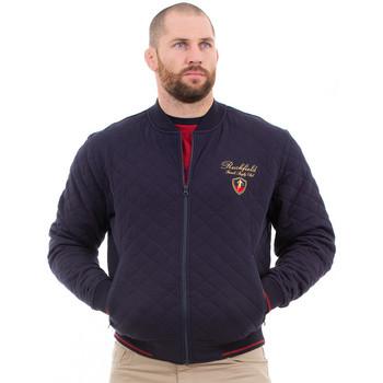 Vêtements Homme Manteaux Ruckfield Veste matelassée French Rugby Club Bleu