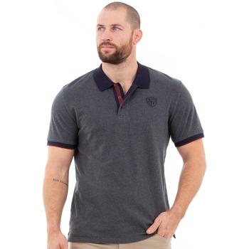 Vêtements Homme Polos manches courtes Ruckfield Polo gris foncé élégance Gris