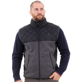 Vêtements Homme Manteaux Ruckfield Veste sans manche grise Gris