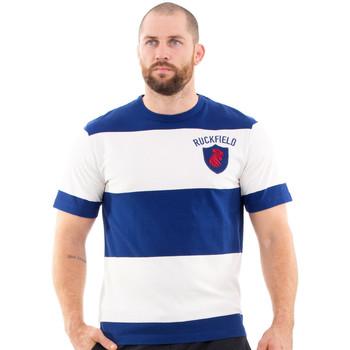 Vêtements Homme T-shirts manches courtes Ruckfield T-shirt bleu rugby héritage Bleu