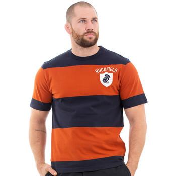 Vêtements Homme T-shirts manches courtes Ruckfield T-shirt orange rugby héritage Orange