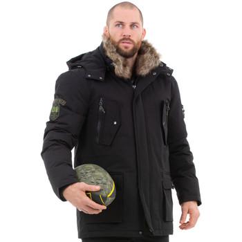 Vêtements Homme Manteaux Ruckfield Parka unie noire Noir