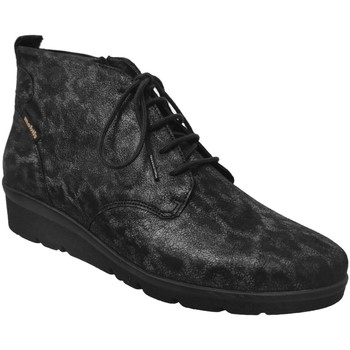 Chaussures Femme Bottines Mobils By Mephisto Naomie Noir/Gris cuir