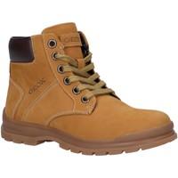 Chaussures Garçon Boots Geox J045HA 032BC J NAVADO Amarillo