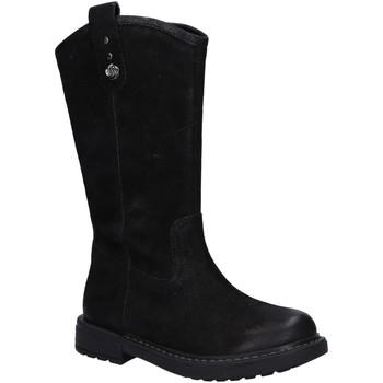 Chaussures Fille Bottes ville Geox J949QE 000MW J ECLAIR Negro