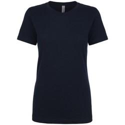 Vêtements Femme T-shirts manches courtes Next Level NX3900 Bleu marine