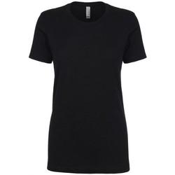 Vêtements Femme T-shirts manches courtes Next Level NX3900 Noir