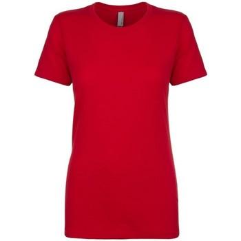 Vêtements Femme T-shirts manches courtes Next Level NX3900 Rouge