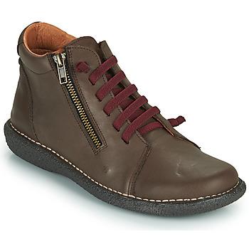 Chaussures Femme Boots Casual Attitude NELIO Marron