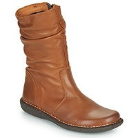 Chaussures Femme Boots Casual Attitude NIELOO Camel