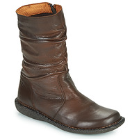 Chaussures Femme Boots Casual Attitude NIELOO Marron