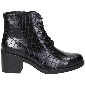 Chaussures Femme Bottines D'angela BOTINES  DHO18088 MODA JOVEN NEGRO Noir