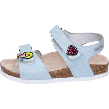 Chaussures Fille Sandales et Nu-pieds Smiley BK510 Bleu