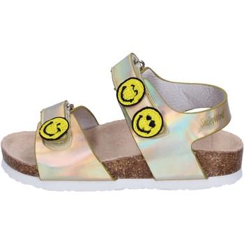 Chaussures Fille Sandales et Nu-pieds Smiley BK511 Doré