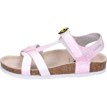 Chaussures Fille Sandales et Nu-pieds Smiley BK512 Rose