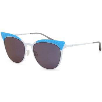 Montres & Bijoux Femme Lunettes de soleil Italia Independent - 0257 Bleu