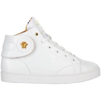 Chaussures Baskets montantes Baron Papillon Sneaker  Mid Royal Blanc Blanc