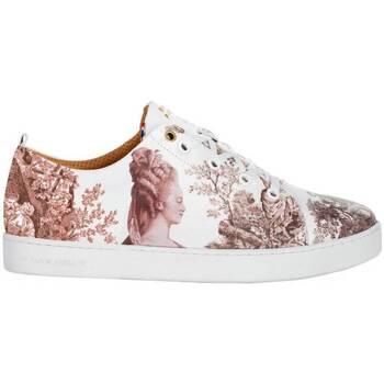 Chaussures Baskets basses Baron Papillon Sneaker  Basse Marie-Antoinette vieux rose Rose