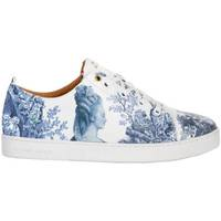 Chaussures Baskets basses Baron Papillon Sneaker  Basse Marie-Antoinette Bleu