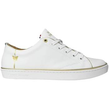 Chaussures Femme Baskets basses Baron Papillon Sneaker  Basse Piping or Blanc