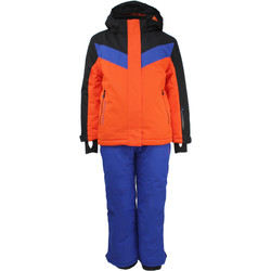 Vêtements Garçon Ensembles enfant Peak Mountain Ensemble de ski EFLIGHT orangebleu