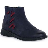 Chaussures Femme Mules Grunland 88IDAL POLACCO BLU Blu
