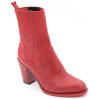 Chaussures Femme Bottines Julie Dee j7309 rouge