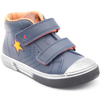 Chaussures Garçon Boots Stones and Bones rosti bleu