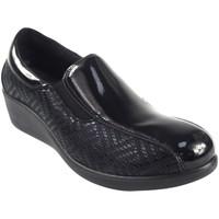 Chaussures Femme Chaussures bateau Amarpies Chaussure femme  18800 AJH noir Noir