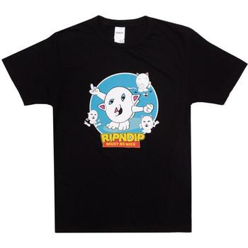 Vêtements Homme T-shirts & Polos Ripndip Nerm story tee Noir