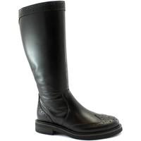 Chaussures Femme Bottes ville Frau FRA-I20-96L9-NE Nero